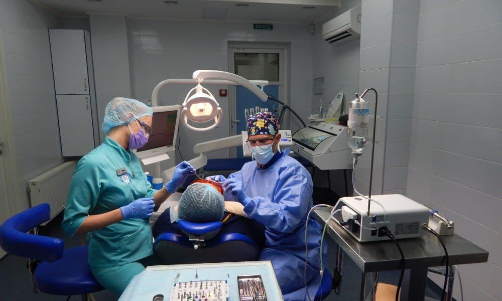 стоматология киев, фото операционной